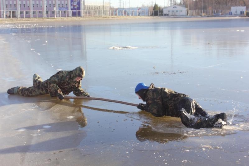 Первые занятия на льду этой осенью