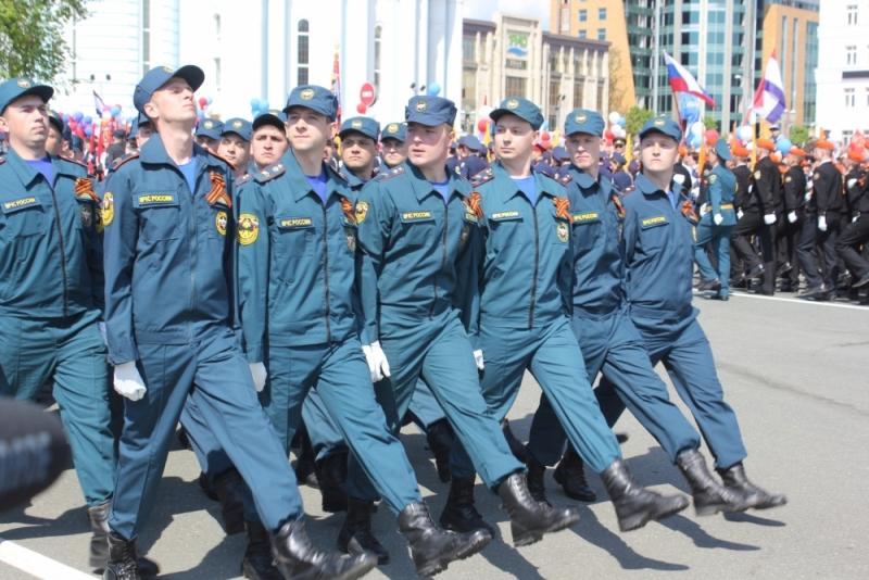 9 мая в столице Мордовии состоялся парад, посвящённый 71-й годовщине Победы советского народа в Великой Отечественной войне.