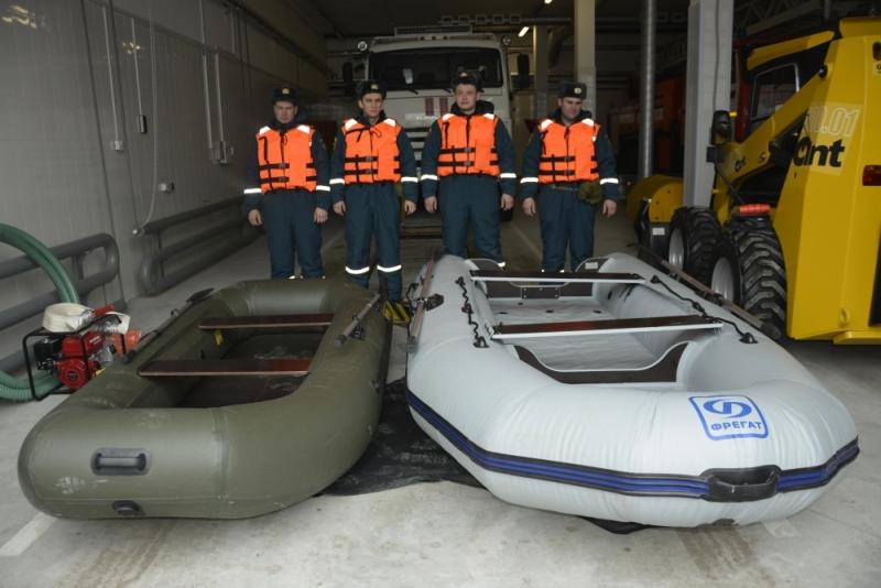 Аэромобильная группировка готова к паводку и пожарам