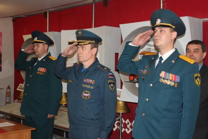 Присяга в ГУ МЧС России по Республике Мордовия