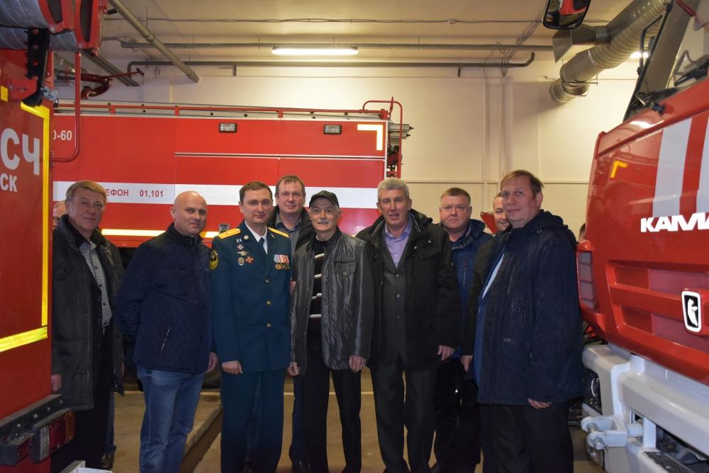 Торжественное мероприятие в честь 30-летия специализированной пожарно-спасательной части