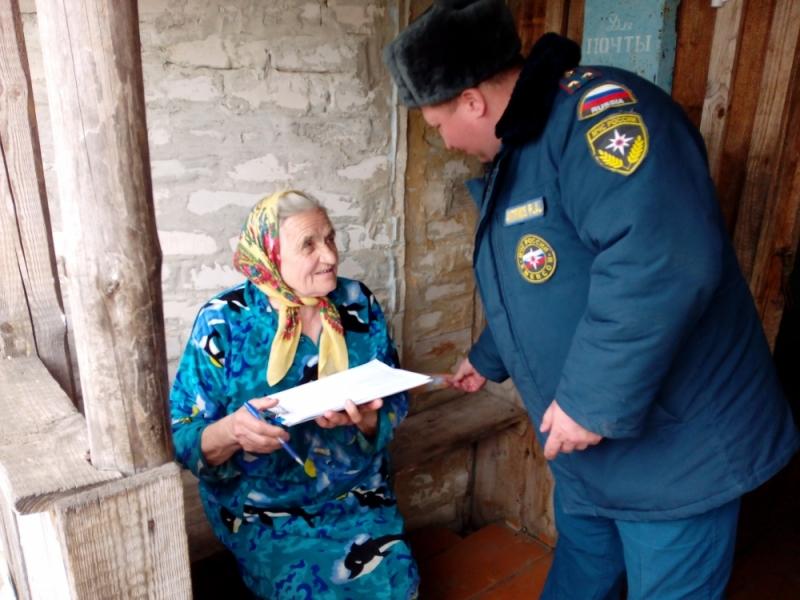 Жители Мордовского Давыдово проинструктированы