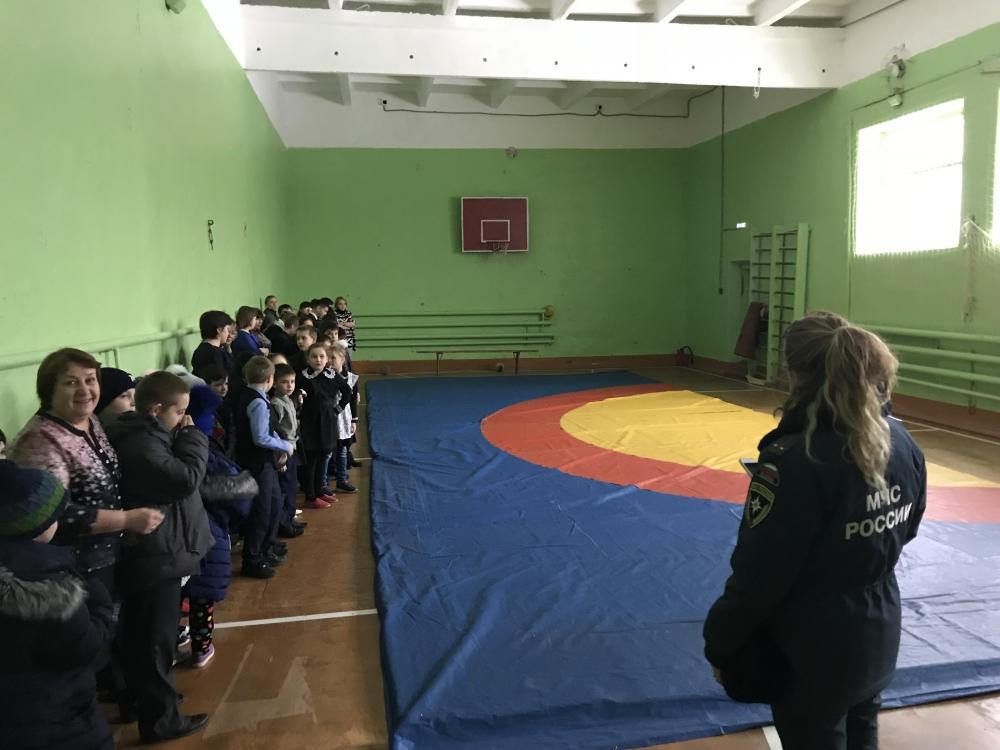 Профилактика в школе Татарской Тавлы