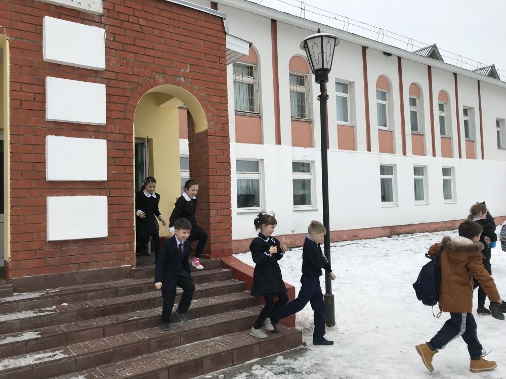 В школе Пензятки день пожарной профилактики