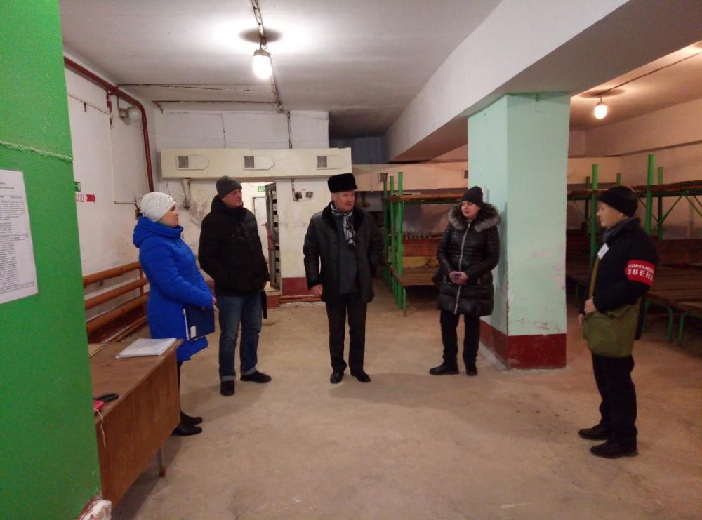 Главное управление проверило готовность городского округа Чапаевск к действиям по ликвидации последствий чрезвычайных ситуаций