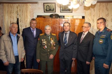 Встреча с ветераном Великой Отечественной войны