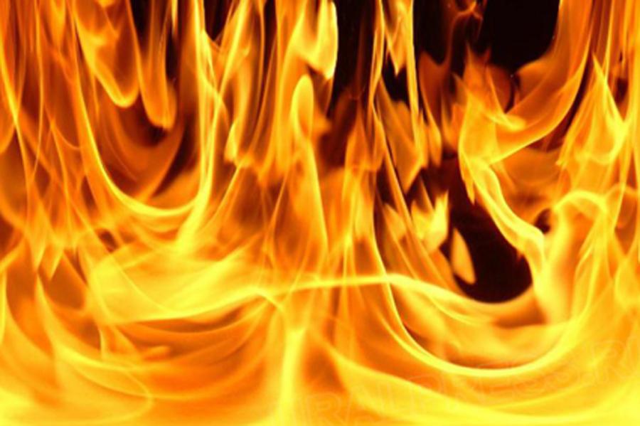 Палы травы могут привести к пожару
