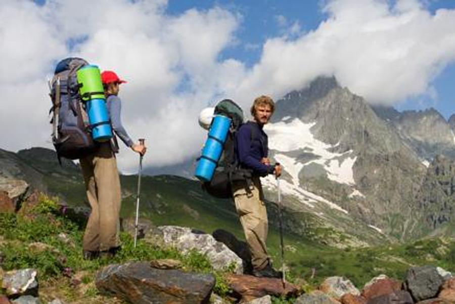 Туристам, идущим в поход