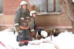 Пожар в Заводском районе