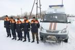 Через снежные заносы к «карете» скорой помощи