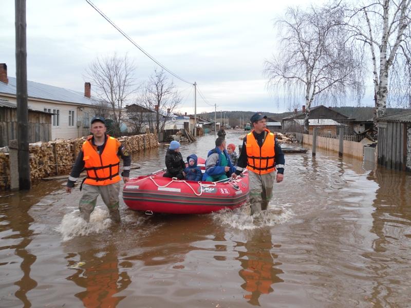 Правила поведения при паводке, наводнении