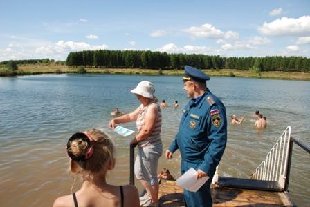 Масштабные профилактические рейды по местам массового отдыха людей на водных объектах