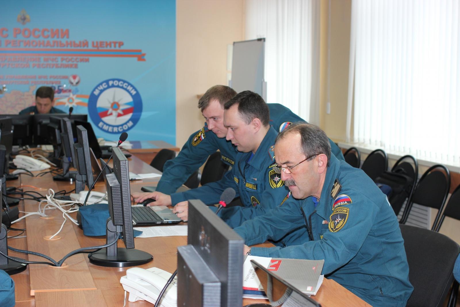 Командно-штабная тренировка 21-23 апреля 2015 г.