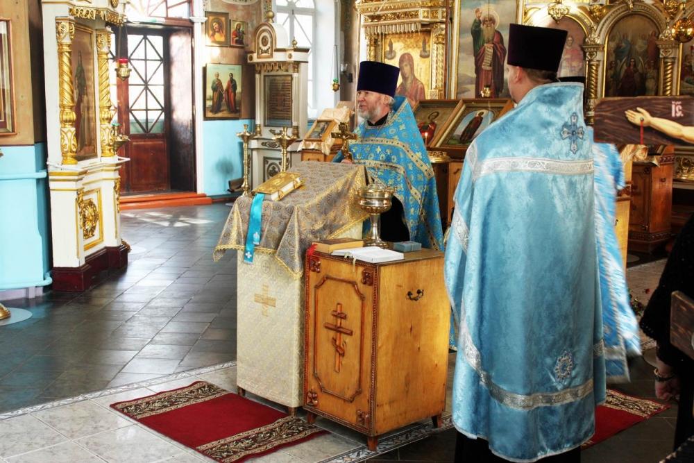 Молебен в честь иконы «Неопалимая Купина»