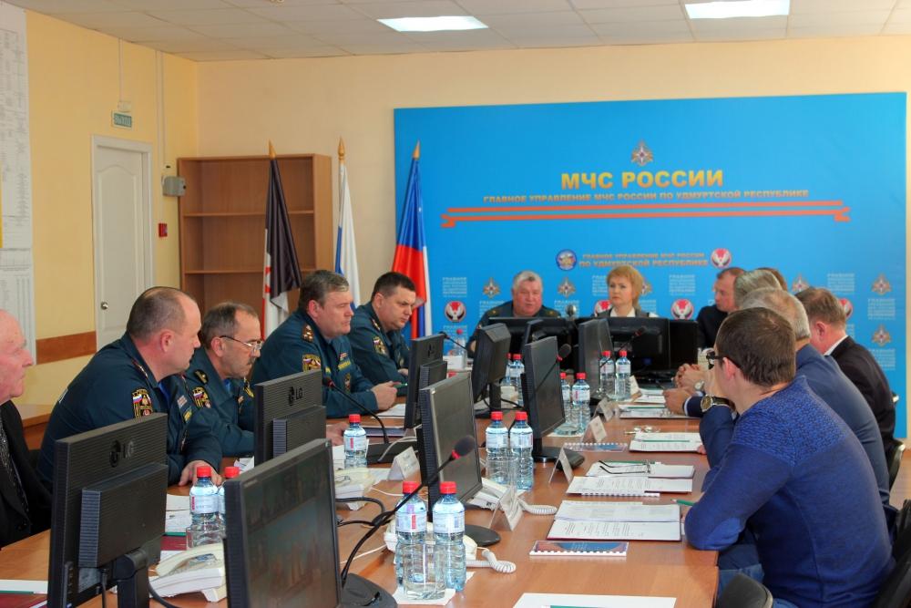 Выездное заседание Госсовета Удмуртской Республики в ЦУКСе