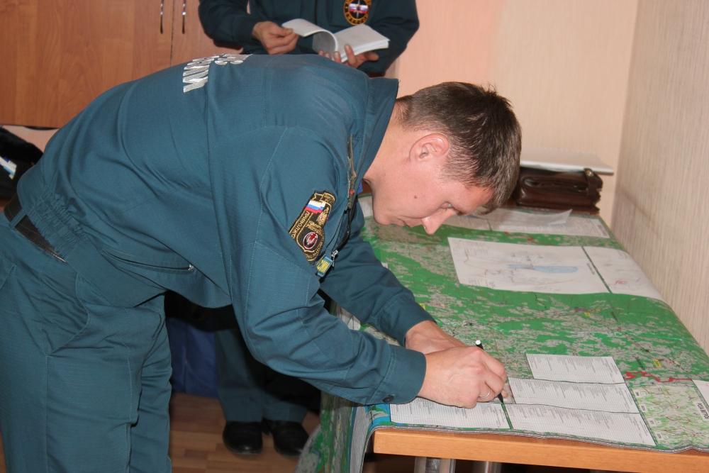 Командно-штабное учение - 2016