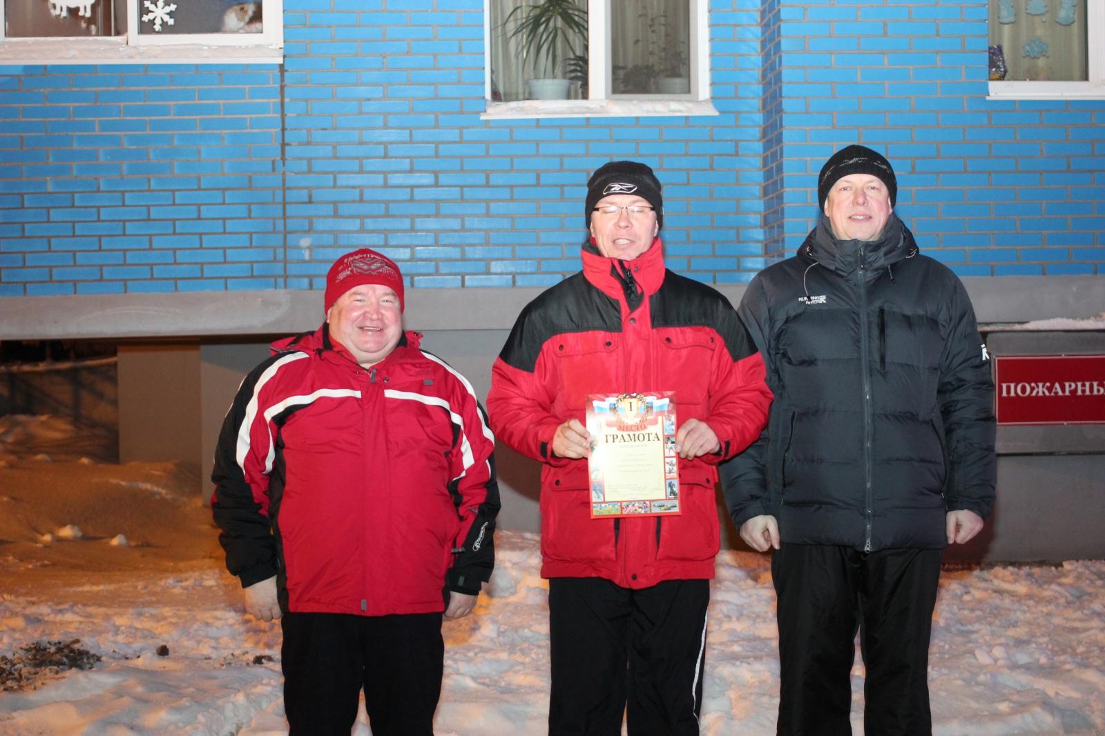 Товарищеский матч по хоккею среди сотрудников Главного управления МЧС России по Удмуртской Республике