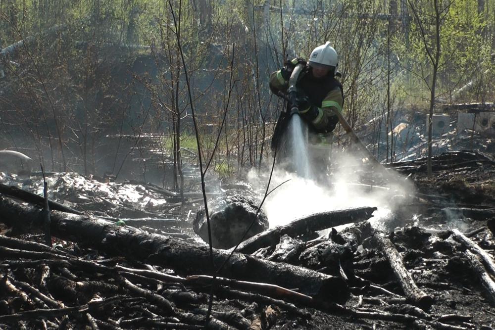Пожарная охрана в лицах. Желание служить на благо безопасности страны было у Александра  Макарова всегда