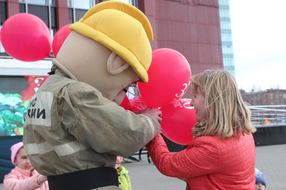 30 апреля 2019 года в городе Ижевске состоялся грандиозный праздник, посвящённый 370-летию пожарной охраны России