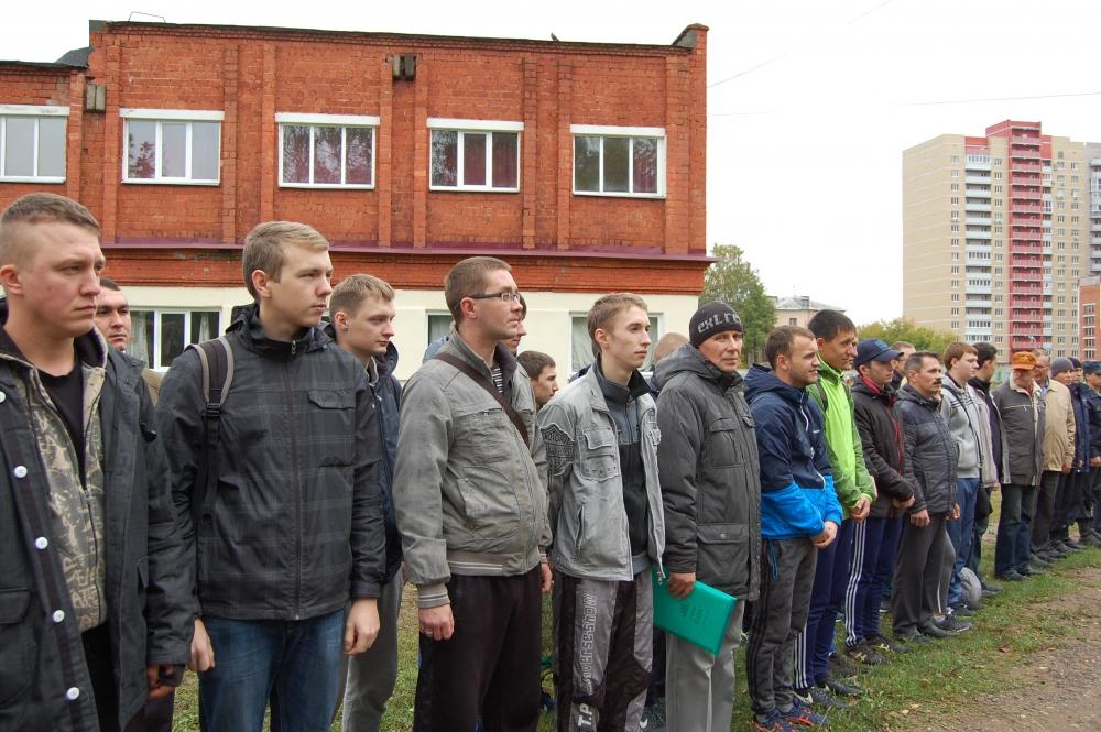 Состязания добровольцев-студентов