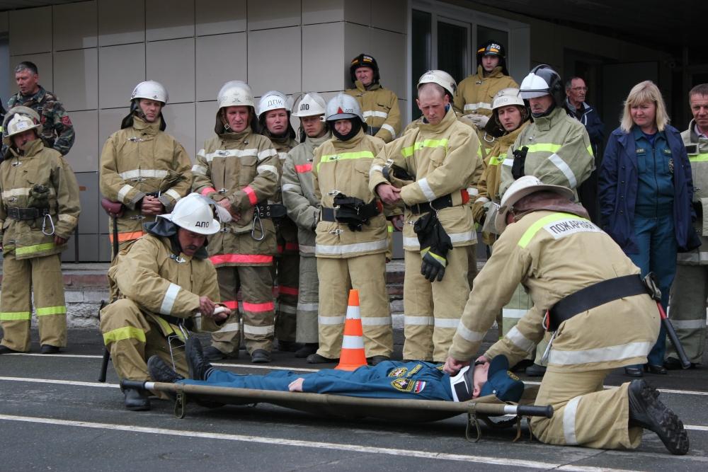 Соревнования добровольных подразделений пожарной охраны Удмуртии-2016