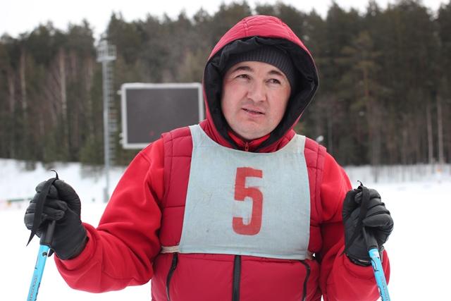 Сдача зачетов по лыжной подготовке