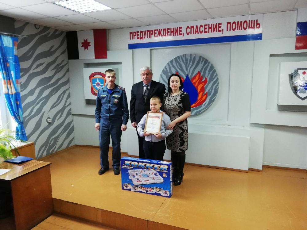Награждение призеров конкурса детско-юношеского творчества «Неопалимая Купина»