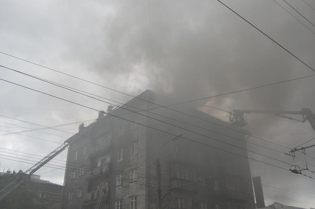 Пожар в Ижевске