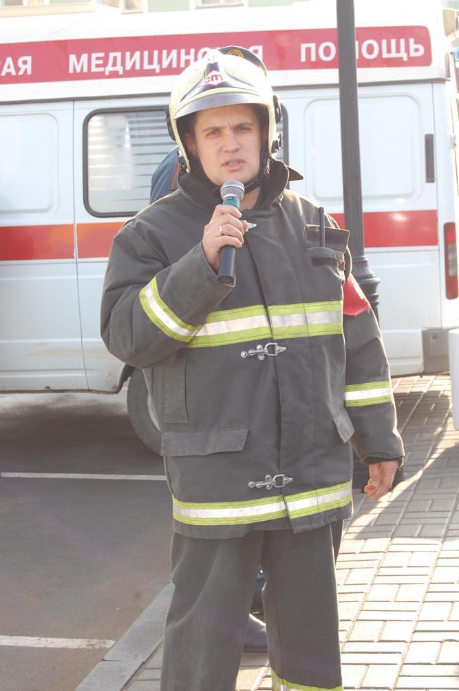 """Пожарно-тактическое учение в """"Доме дружбы народов"""""""