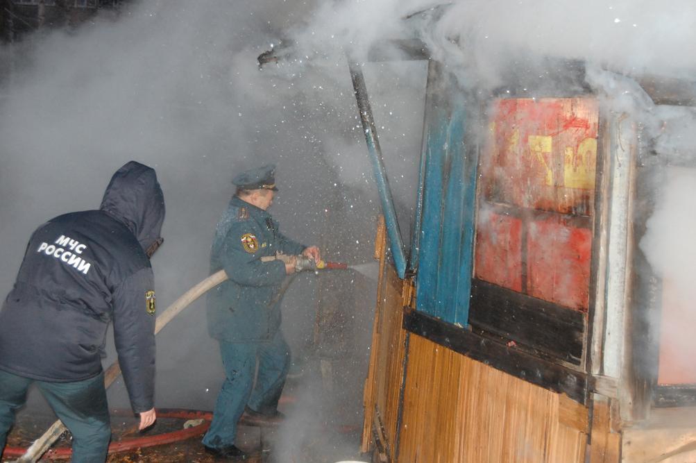 Боевая работа сотрудников ФПС по Удмуртской Республике