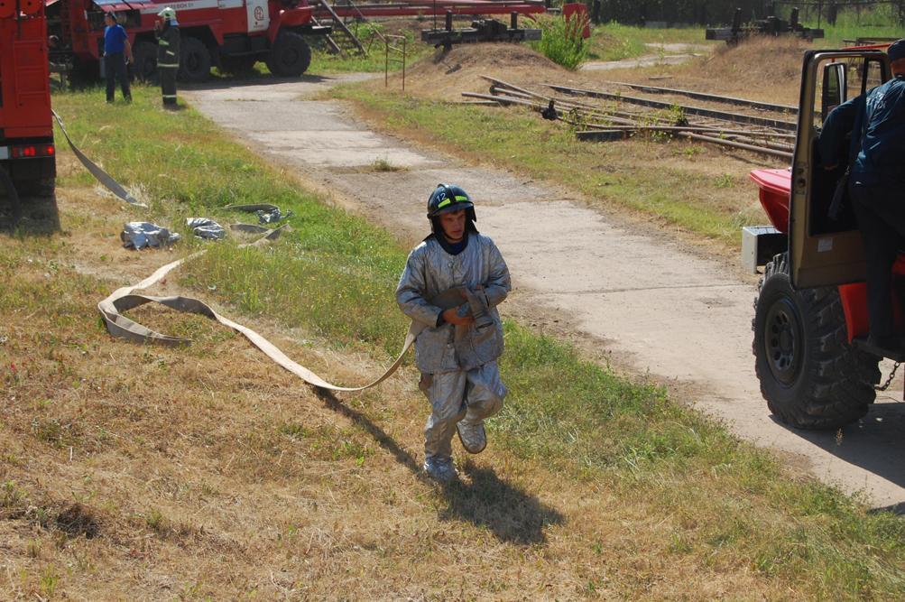 Пожарно-тактическое учение