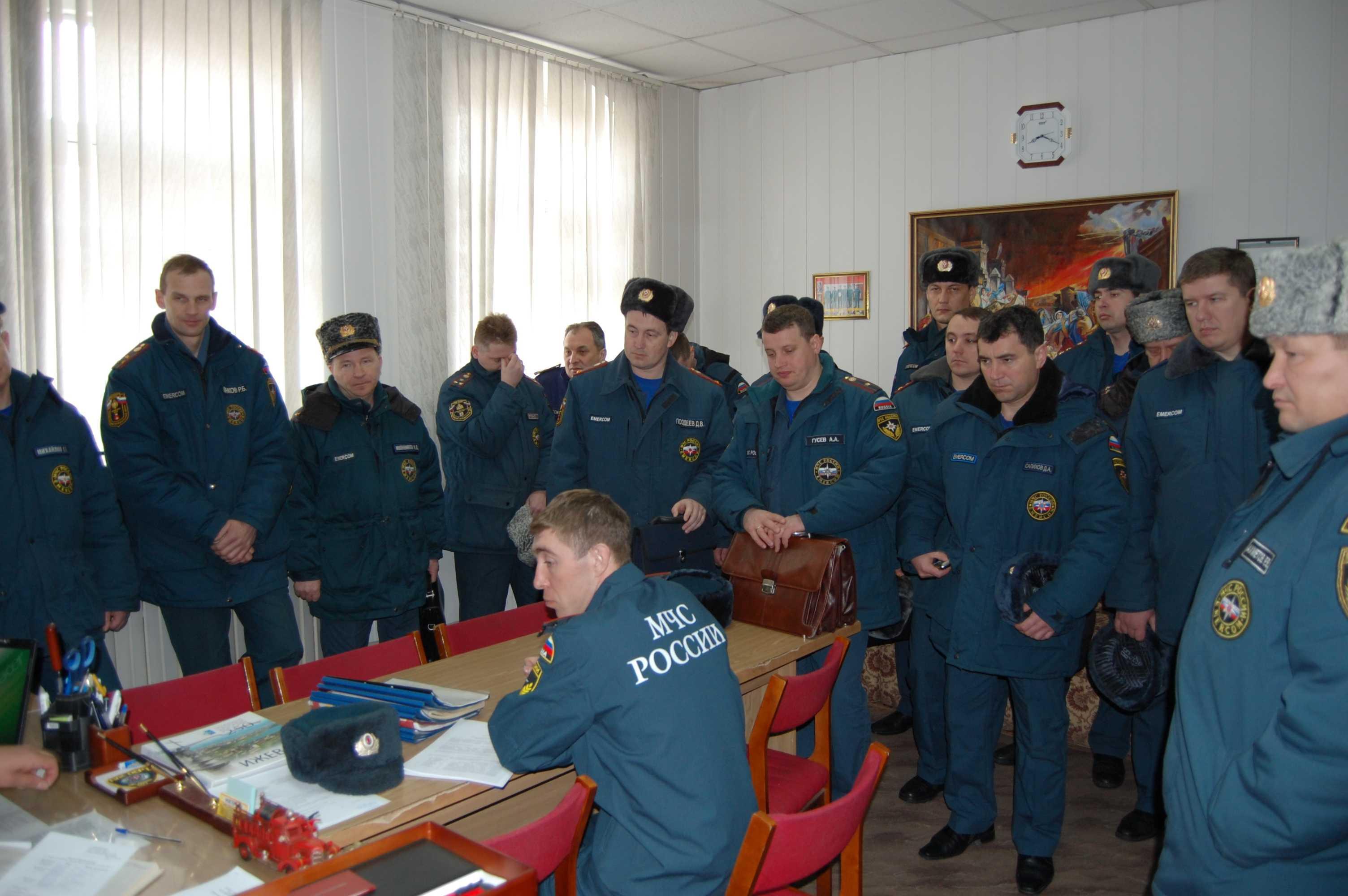 Учебно-методический сбор начальников подразделений пожарной охраны