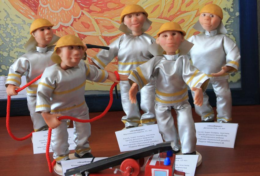 Конкурс детского творчества на противопожарную тематику