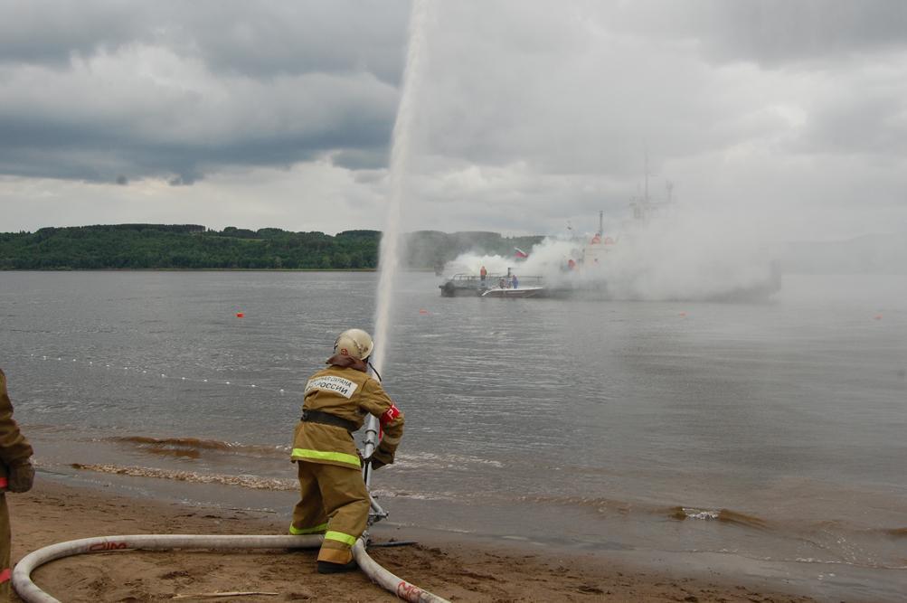 Специальное учение по отработке организации взаимодействия сил и средств, предназначенных для спасения на водных объектах