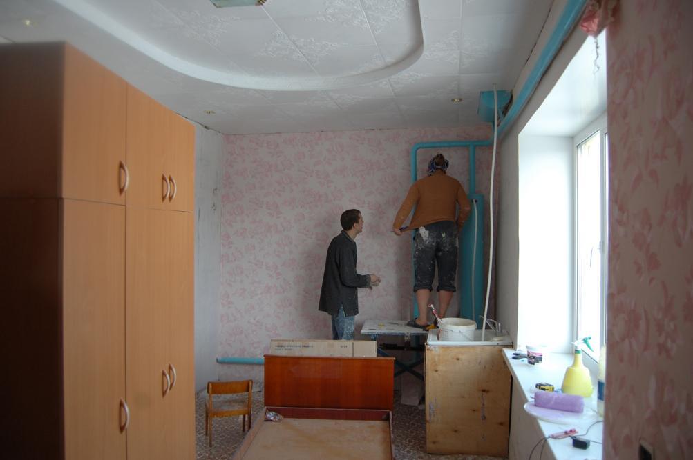 Восстановительные работы