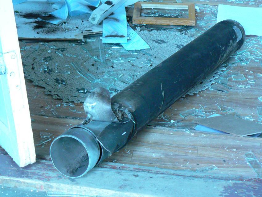 Взрыв на арсенале в Пугачево