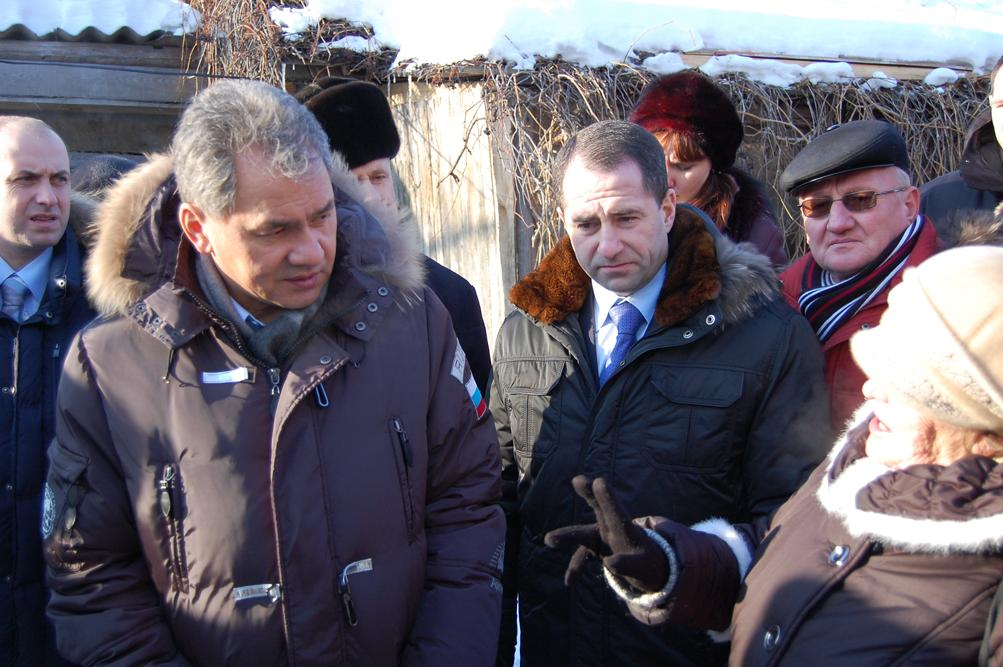 Рабочий визит Министра С.К. Шойгу