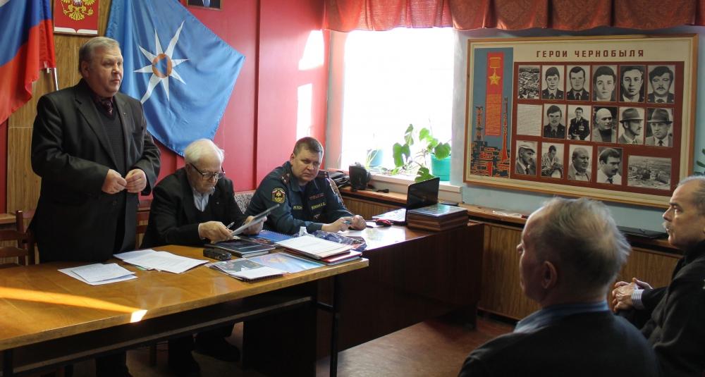 В Ульяновском пожарном гарнизоне состоялся семинар с активом первичных ветеранских организаций