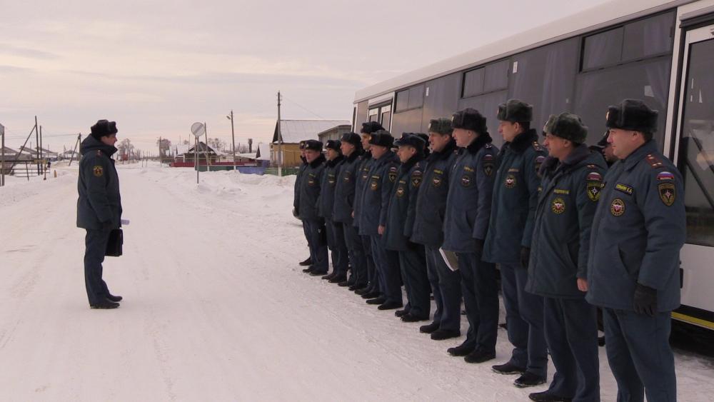 Противопожарный десант высадился в Мелекесском районе Ульяновской области