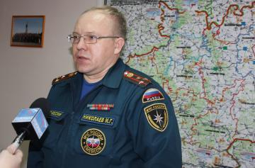 Накануне Всемирного дня гражданской обороны в региональном МЧС прошла пресс-конференция