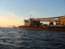 В районе ЧС проводятся работы по подготовке к подъему судна