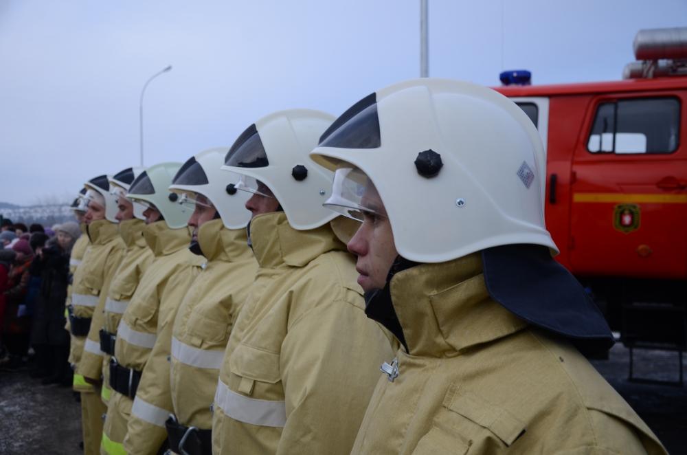 13.12.2018 Торжественное открытие пожарного депо в с.Афанасьевском Ачитского района