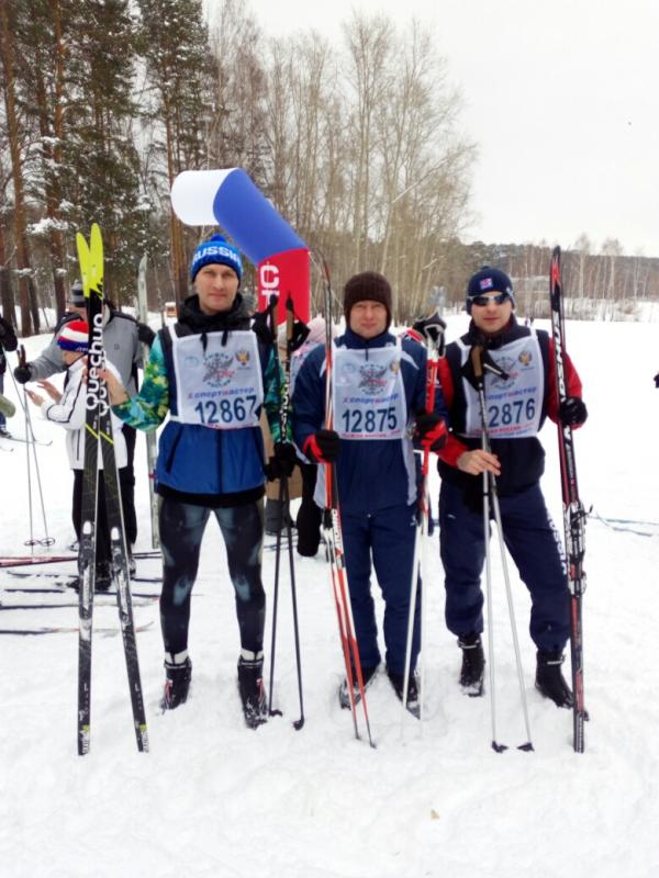 Участие в лыжне России