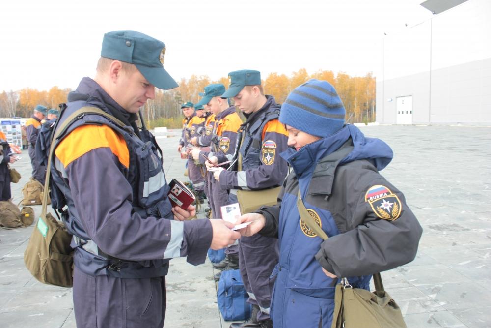 05.10.2016 Второй день Всероссийской тренировки по гражданской обороне в Свердловской области