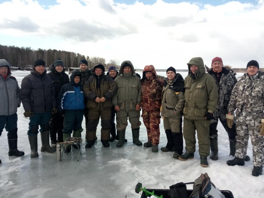 04.04.2018  на Белоярском водохранилище были проведены соревнования по подледному лову рыбы
