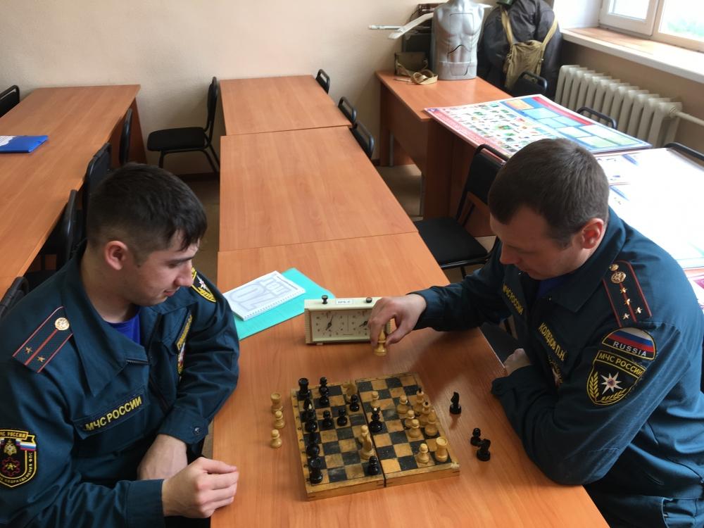 31 мая  в  СПСЧ № 5 прошли соревнования по шахматам