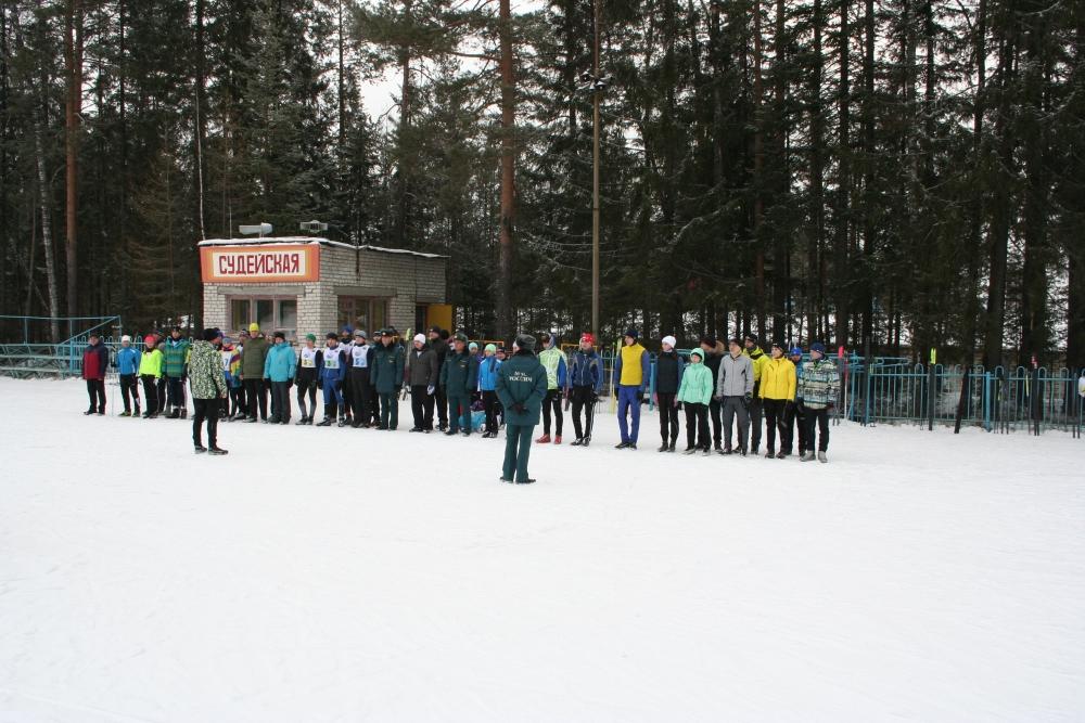 Лично-командные соревнования по лыжным гонкам