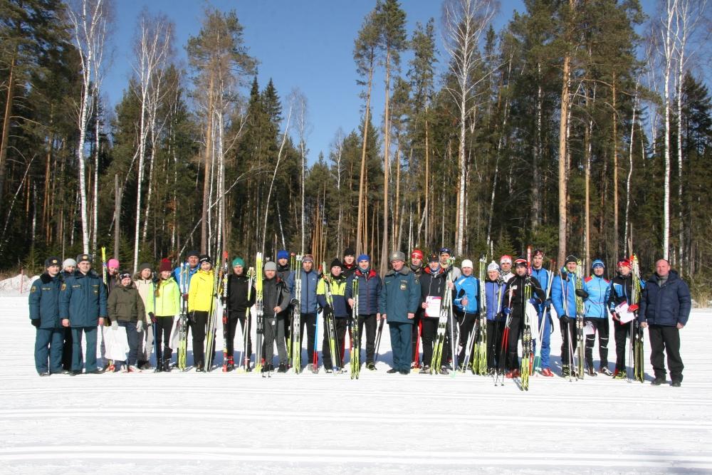 Открытое первенство ФГКУ «Специальное управление ФПС № 6 МЧС России» по лыжным гонкам.