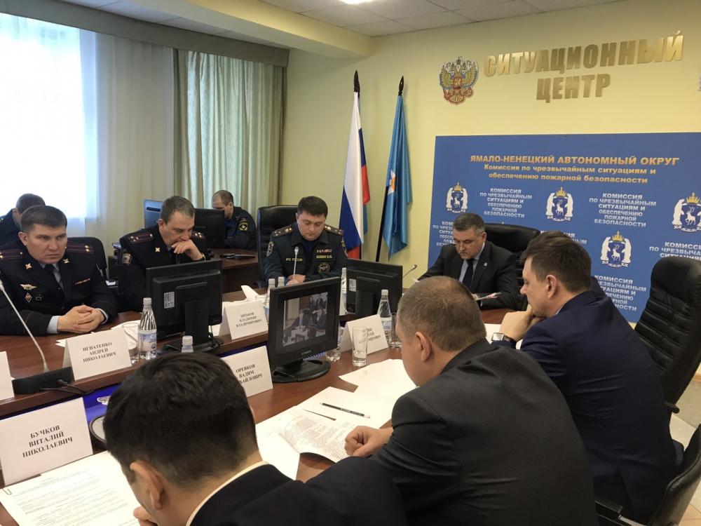 Основные вопросы в повестке касались подготовки Ямала к предстоящим пожароопасному и паводкому периодам