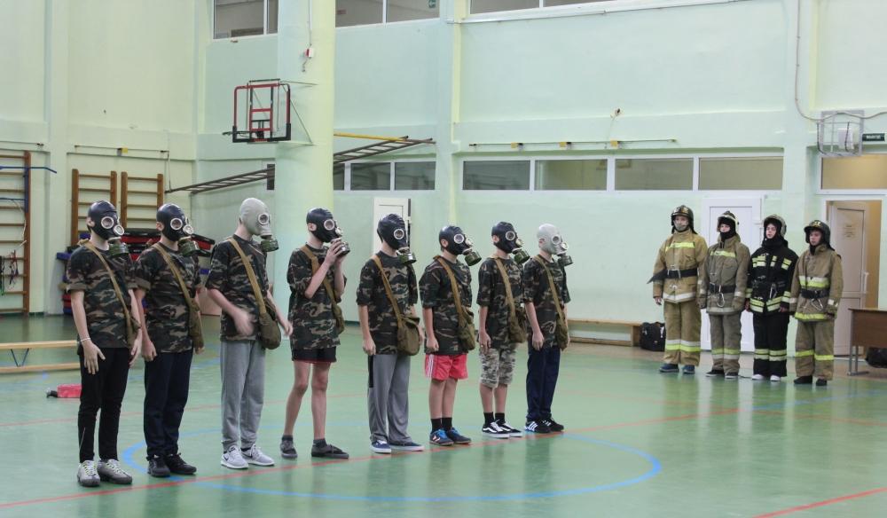 Открытые уроки ОБЖ, посвященные юбилейному году  Гражданской обороны